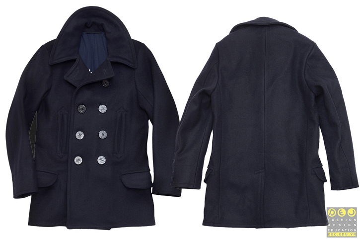 Áo khoác The Real McCoy's US Navy 1913 Peacoat